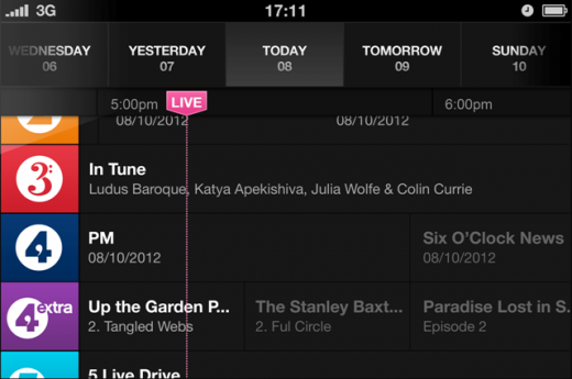 8131846V8K71oST 520x345 The BBC unveils iPlayer Radio, a new standalone service for PCs, smartphones and tablets