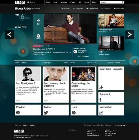 813184OSJwbYUO The BBC unveils iPlayer Radio, a new standalone service for PCs, smartphones and tablets