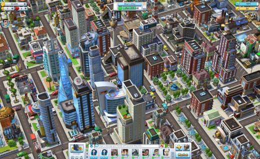 CityVille 2 -- Overhead Daytime Screenshot