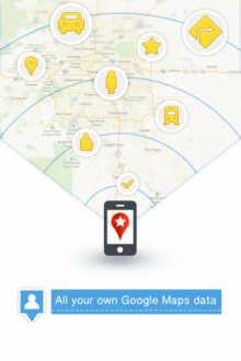 My Places for Google Maps 220x330 Apple got you lost? 40 alternative map & GPS apps for iOS