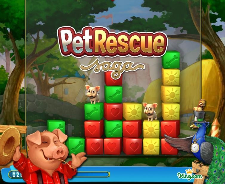 King com Releases New Game For Facebook, Updates Another For Mobile