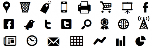 Screen Shot 2012 01 20 at 8.17.32 PM 520x165 7 Gorgeous icon fonts to speed up your site and your design process