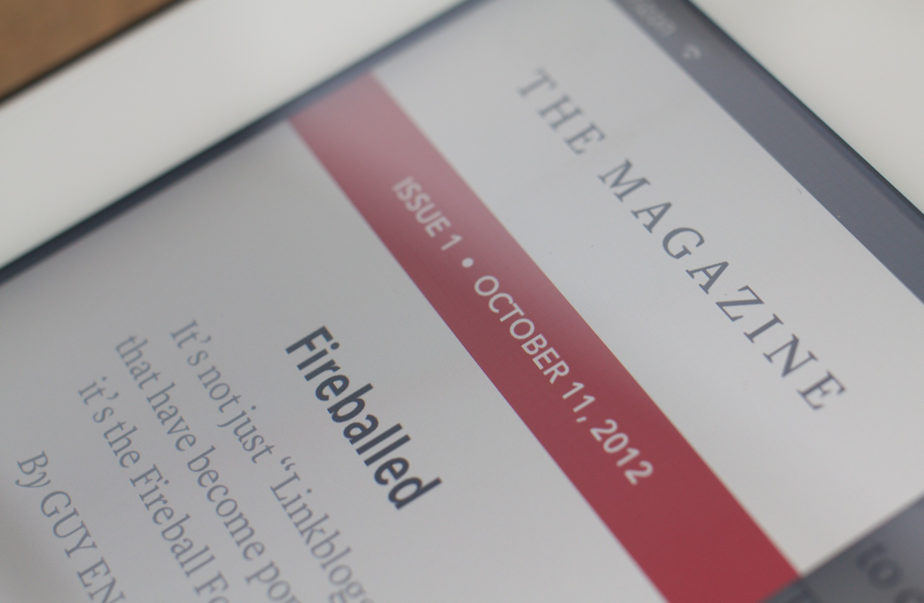 Instapaper creator Marco Arment launches The Magazine, a different kind of periodical for Apple's ...