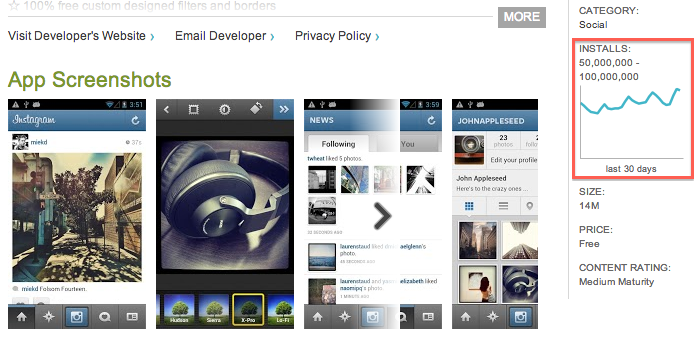 how to download instagram on android without google play