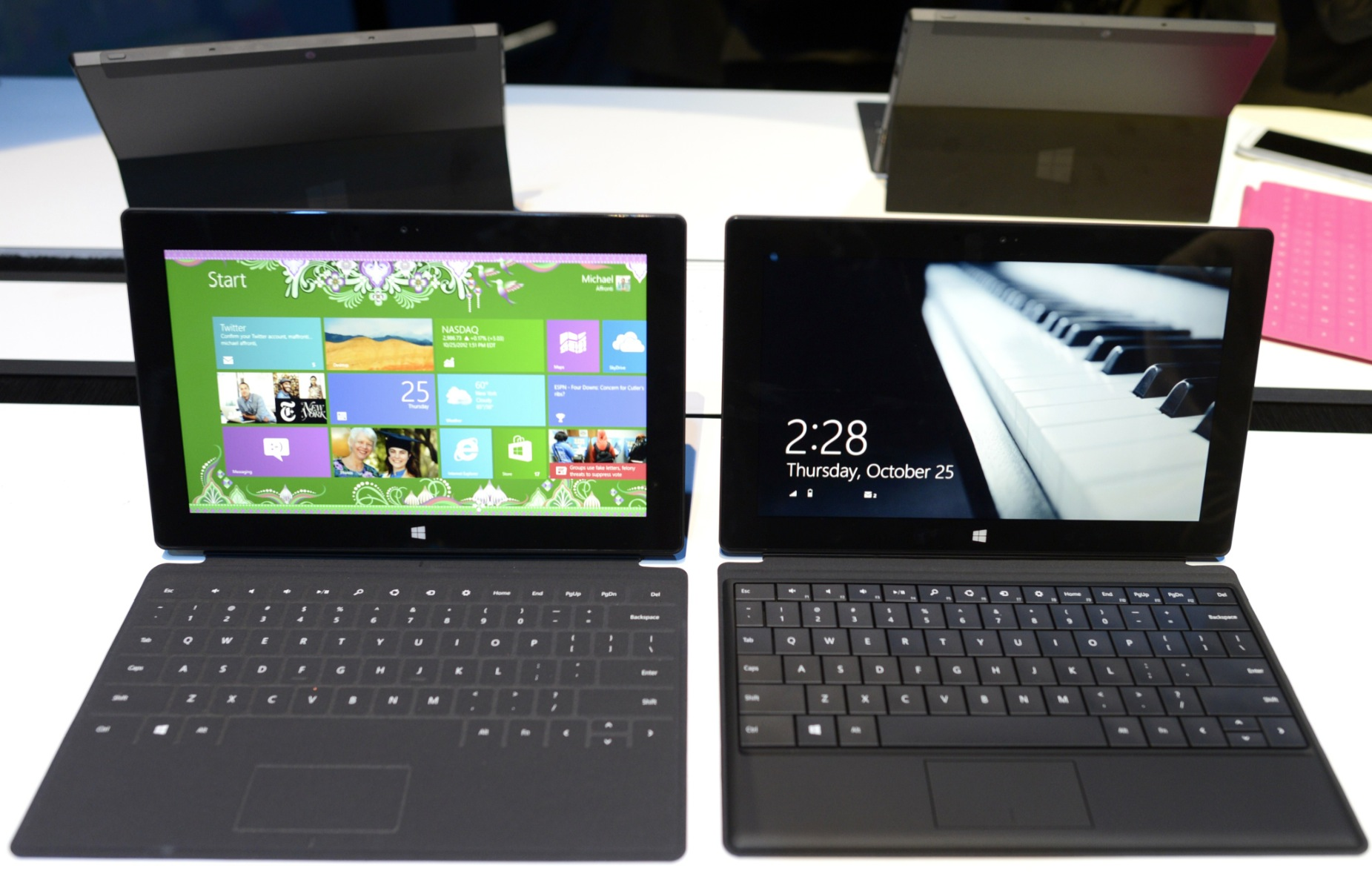 Apple CEO Tim Cook compares Microsoft Surface to a 'car that flies and floats' but doesn't ...