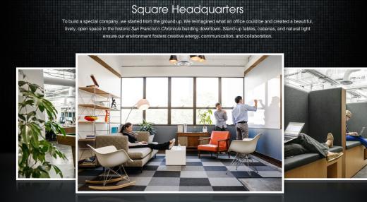 Photos of Square headquarters