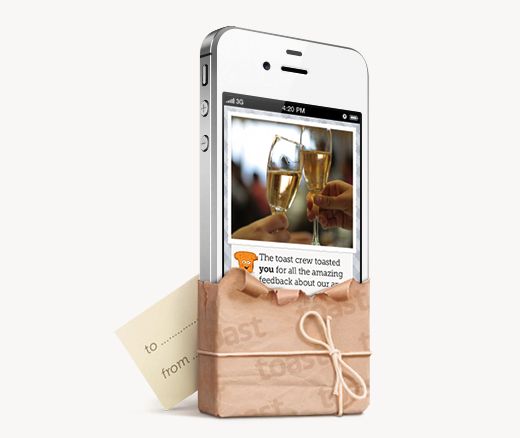 Toast 113810 Toast launches social wishlist iOS app to rival Facebook Gifts, lands seed funding