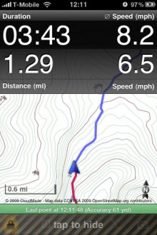 Trails GPS 220x330 Apple got you lost? 40 alternative map & GPS apps for iOS