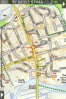 UK map 220x330 Apple got you lost? 40 alternative map & GPS apps for iOS
