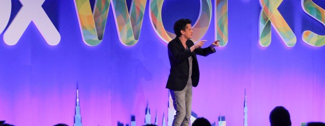 Box co-founder Aaron Levie speaks at Boxworks