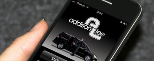 addison lee mobile 520x208 London minicab company Addison Lee on track to take $80 million via its iPhone app by years end