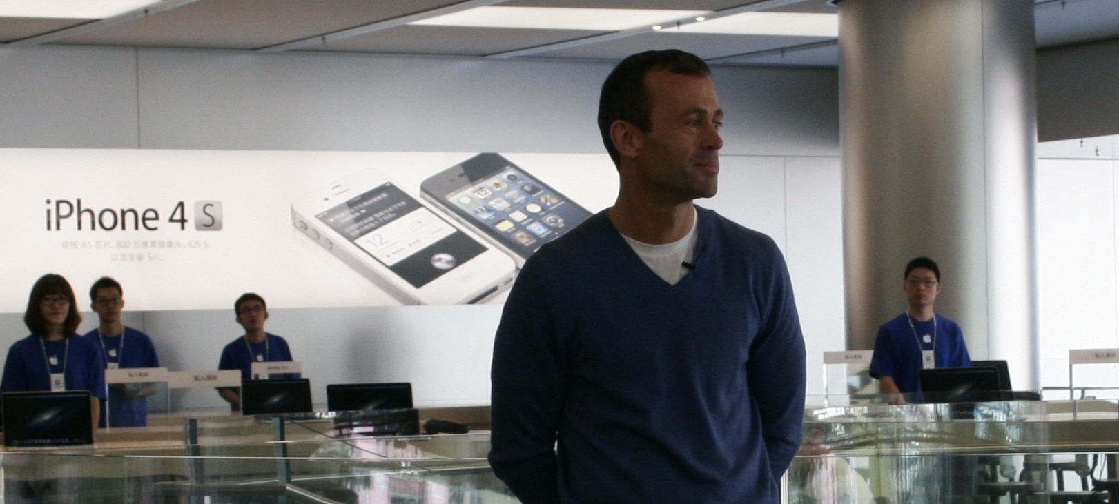 Looking back: John Browett's turbulent six months in charge of Apple Retail