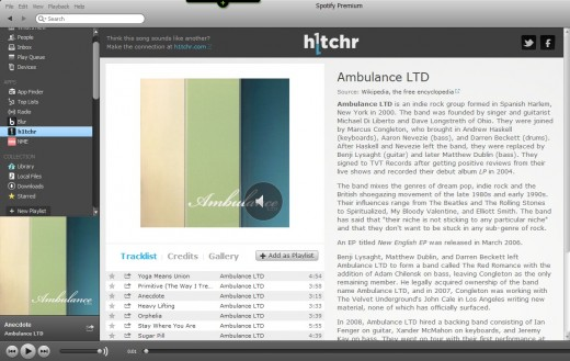 b7 520x329 H1tchr taps Wikipedia and Discogs to bring full album and artist info to your Spotify collection