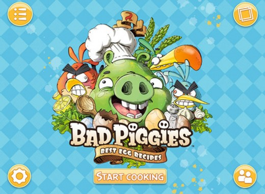 bad piggies cook book 1 520x381 Green ham and eggs: Rovios Bad Piggies cook up an iPad recipe book app