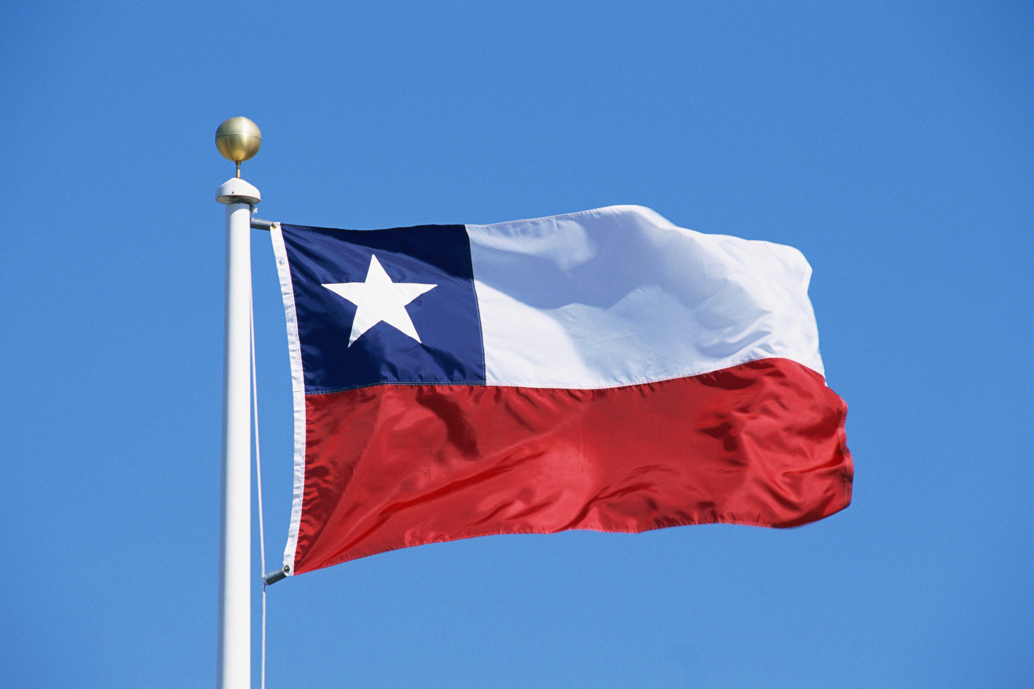 Image of the Chile national flag.