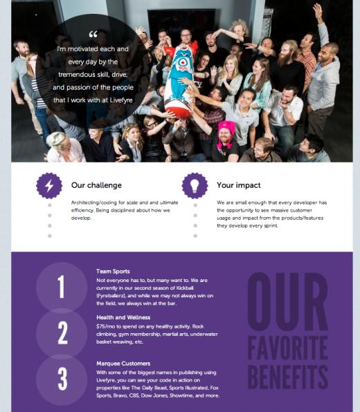 Coderwall enhanced team page profile screenshot