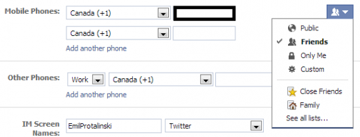 How to remove or protect your phone number on facebook this ccuart Images