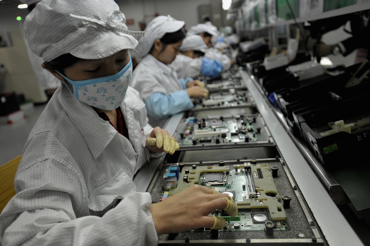 Even underpaid Foxconn workers are losing their jobs to robots