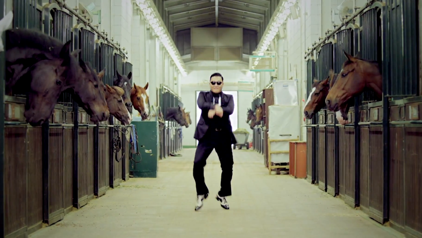 Watch: 80,000 Korean fans get down to PSY's Gangnam Style
