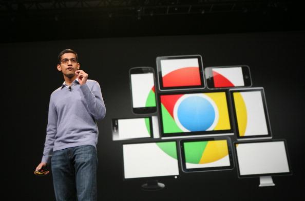 Sundar Pichai, senior vice president of Chrome