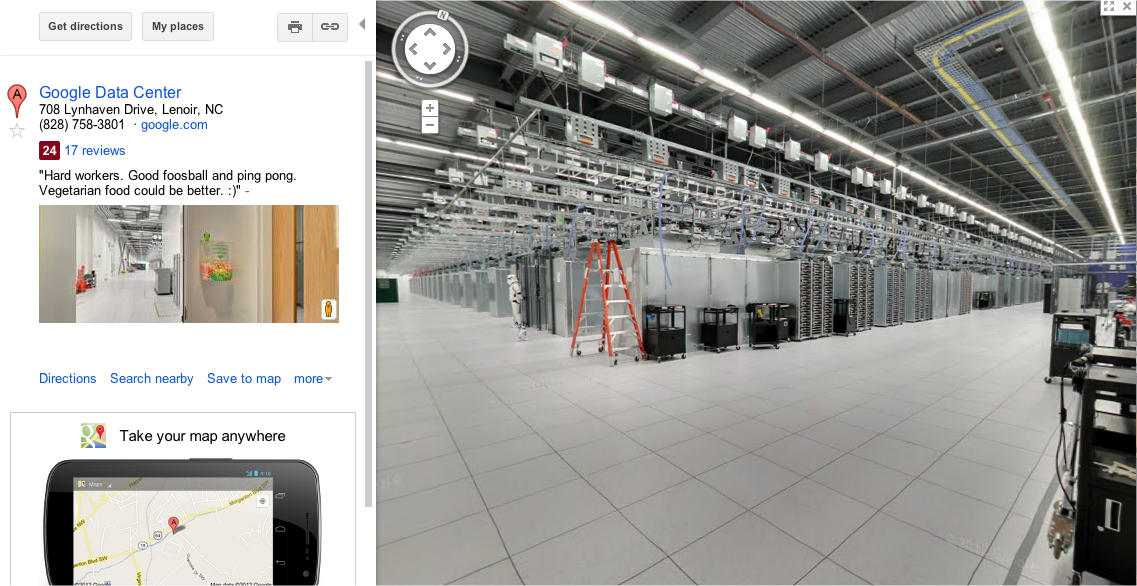 Google's Data Center Security Uses Stormtroopers To Protect ... on google internet map, selmer tn map, google maps space view, google servers, top data center locations map, google 3d street view, google weather map, google facility tour, google government map, google cloud map, google restaurants map, sao paulo google map, google wireless map, google global map, google map of albuquerque nm, google commercial map, microsoft data center locations map, google china map in chinese, google office map, office 365 data center map,