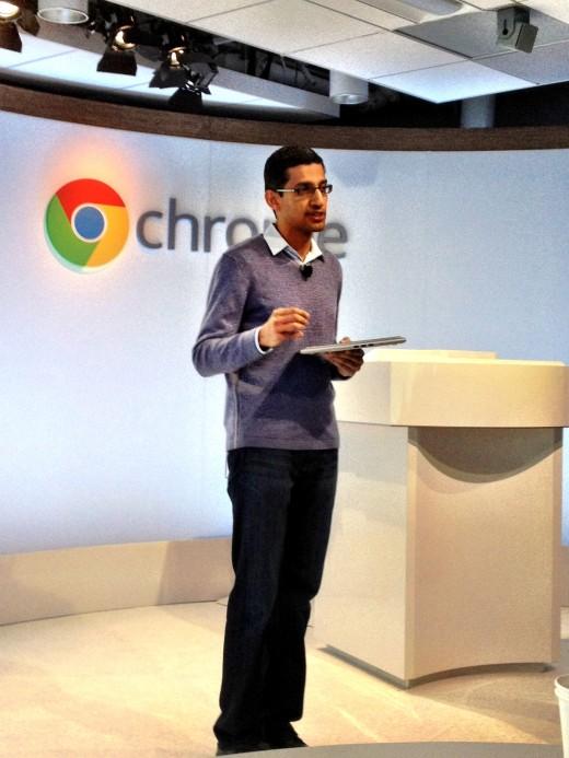 Google announcing the Samsung Chromebook
