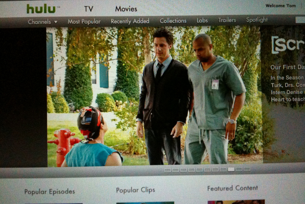 BuddyTV Guide's iOS app is now listing Hulu Plus' content