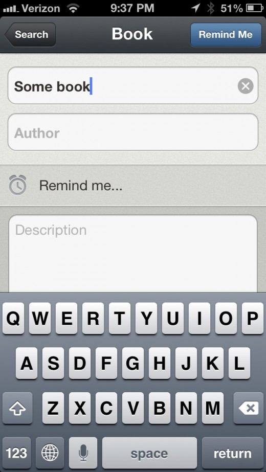 Recall for iOS: A beautiful way to help you remember good music, movies, books and more