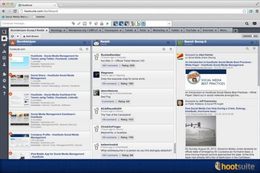 image002 520x346 HootSuite adds Reddit, StumbleUpon and more to its ever growing App Directory