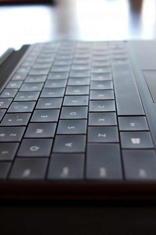 keyboard 3 520x780 Surface showdown: Which keyboard is the best? We take the Touch and Type Covers to task