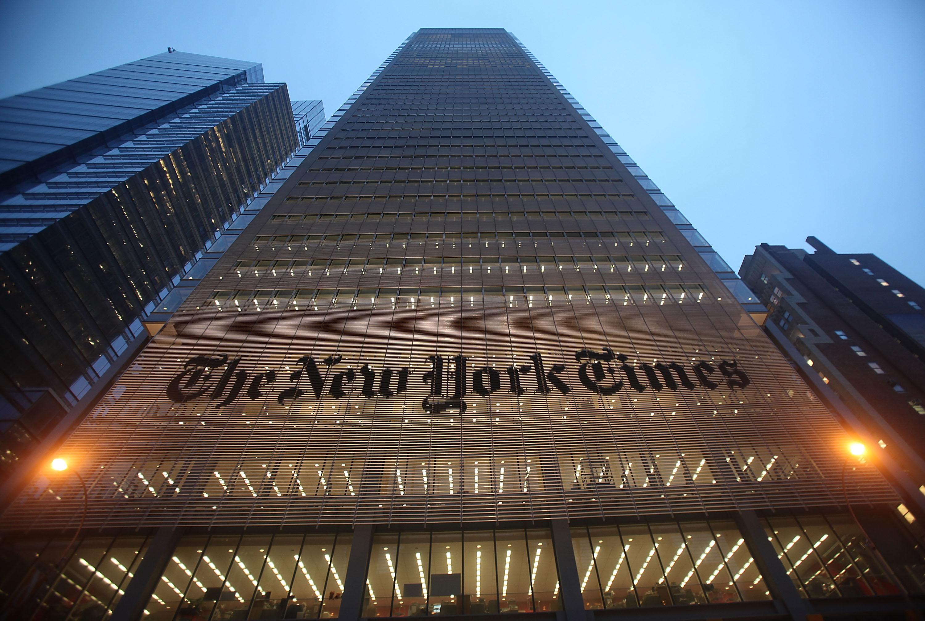The New York Times goes dark in China after exposé on premier's family's fortune