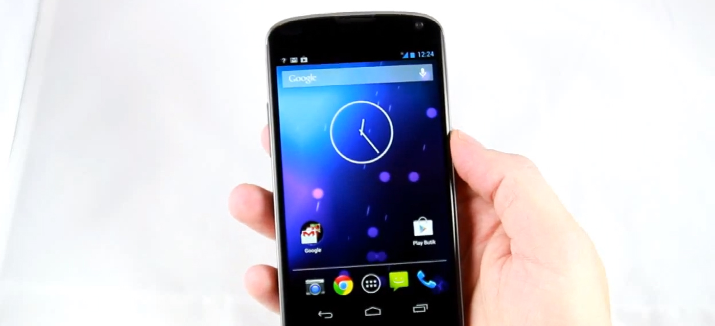 Google's Nexus 4 and Android 4.2 get the hands-on treatment in new video
