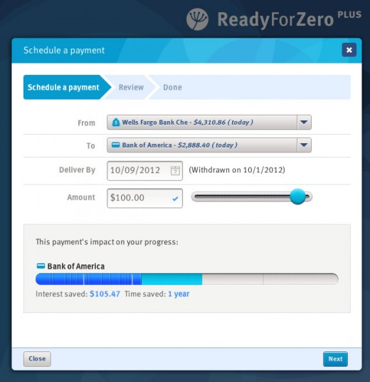 ReadyForZero screenshot