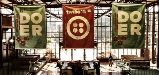 Photo of Twilio's conference