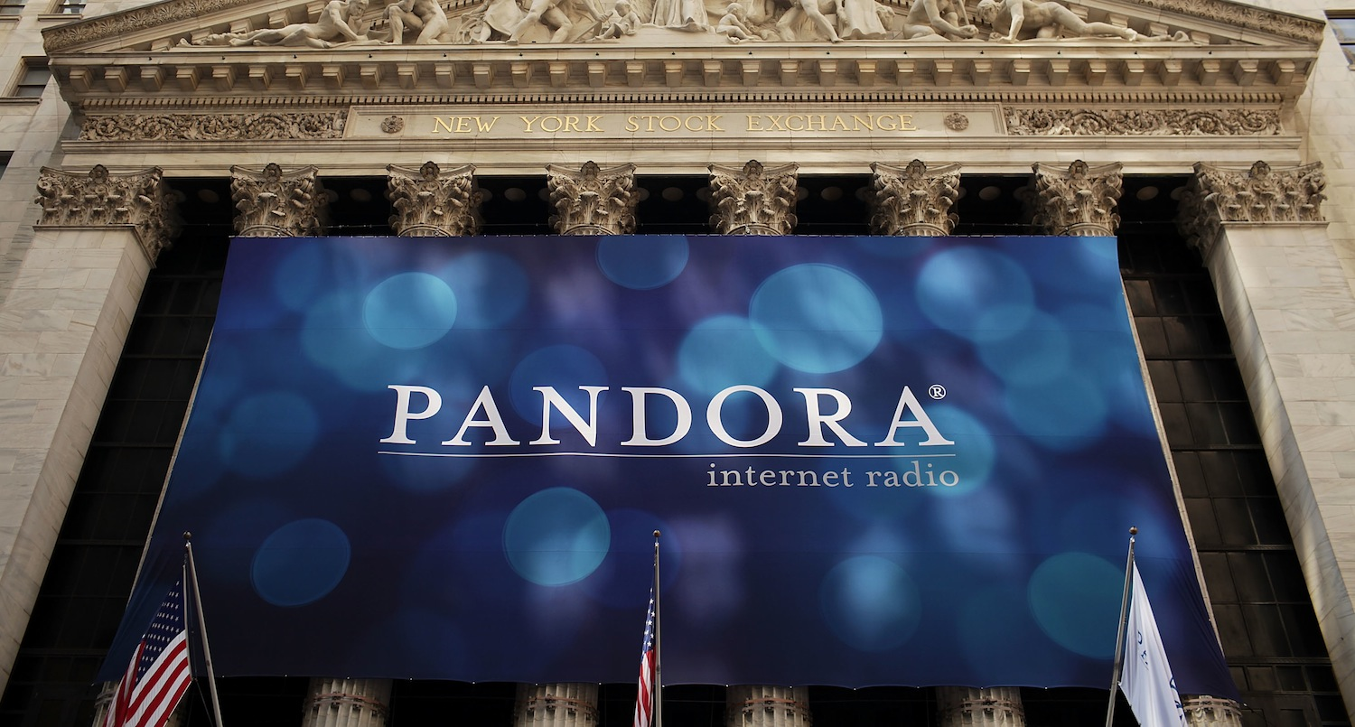 "Pandora sues copyright collective over music licensing fees which it claims ""prevent profitability"" ..."