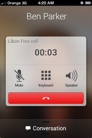 Orange's Libon: A Data-Based Mobile Carrier in an App