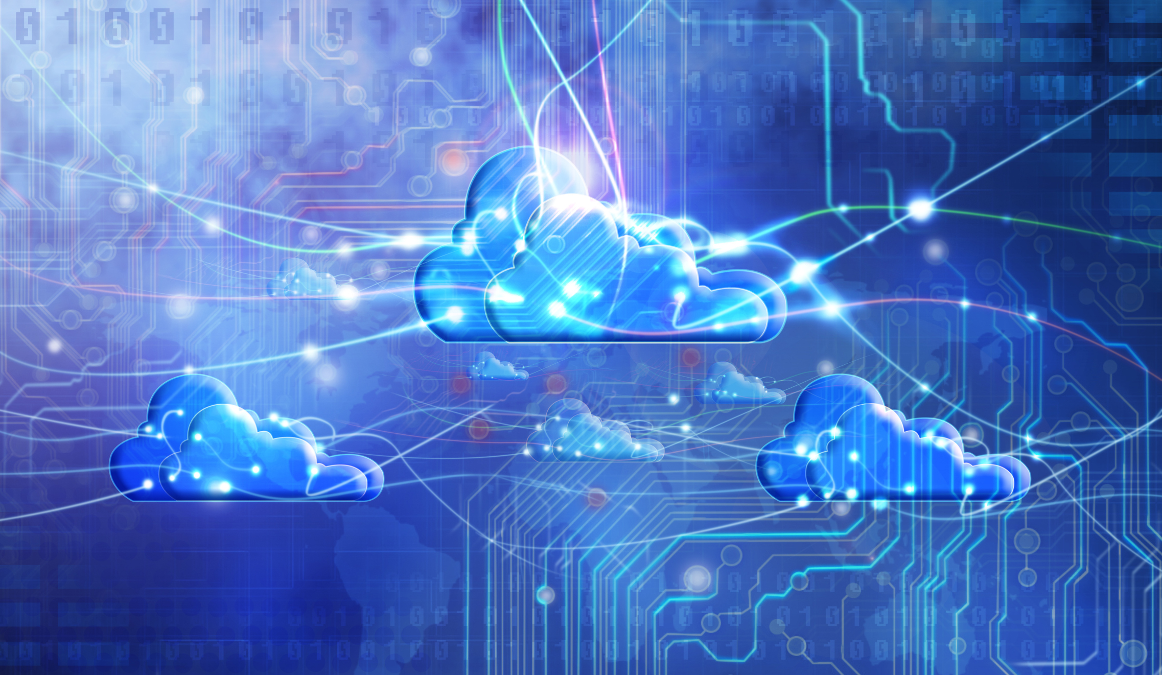 Advantages of a hybrid cloud and virtualization system
