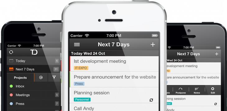 Task management startup Todoist launches official iPhone and Android Apps