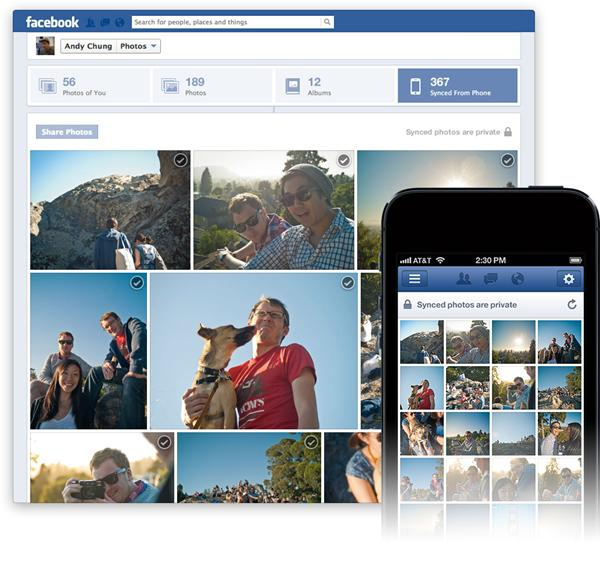 DisplayMedia Facebook launches Photo Sync automatic picture uploading feature for Android and iOS