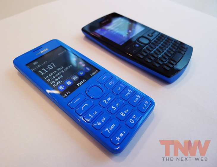 Nokia Unveils the 206, Asha 205 and New 'Slam' Content Sharing Service