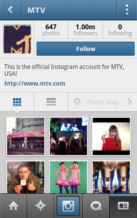 MTV Instagram MTV becomes the first company to hit 1 million Instagram followers
