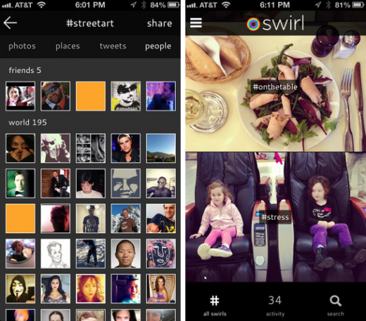 Screen Shot 2012 11 09 at 11.58.14 AM 520x457 Betaworks launches Swirl: A group photo sharing app that wont make your eyes bleed