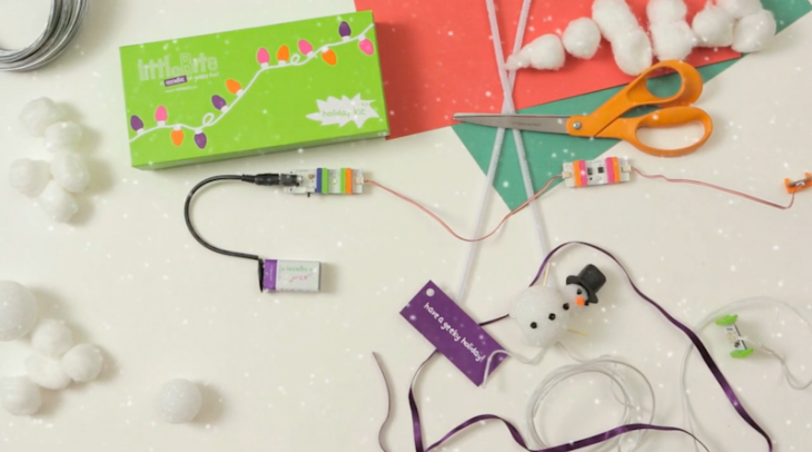 Forget lame gifts: Check out littleBits' holiday kit to teach your kids electronics and engineering ...