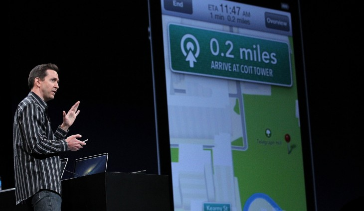 Driving navigation apps slipping into Apple Maps' transit section, is it oversight or leniency? ...