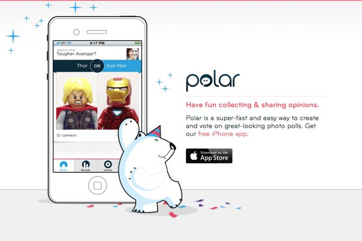 Polar app website