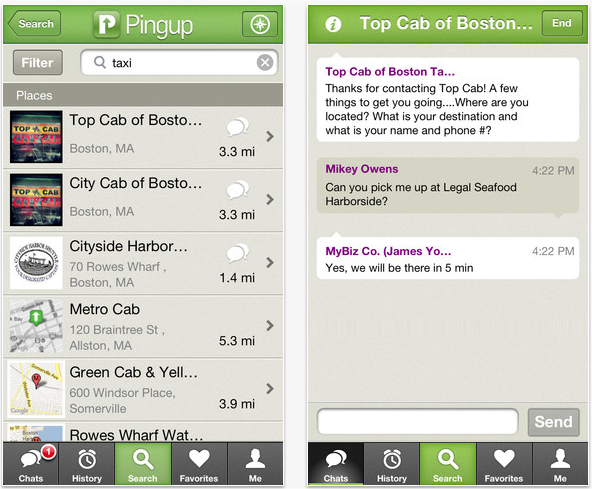 Snap 2012 11 28 at 11.00.11 Pingup nabs $4m equity round, looks to expand service to San Francisco and other big urban cities
