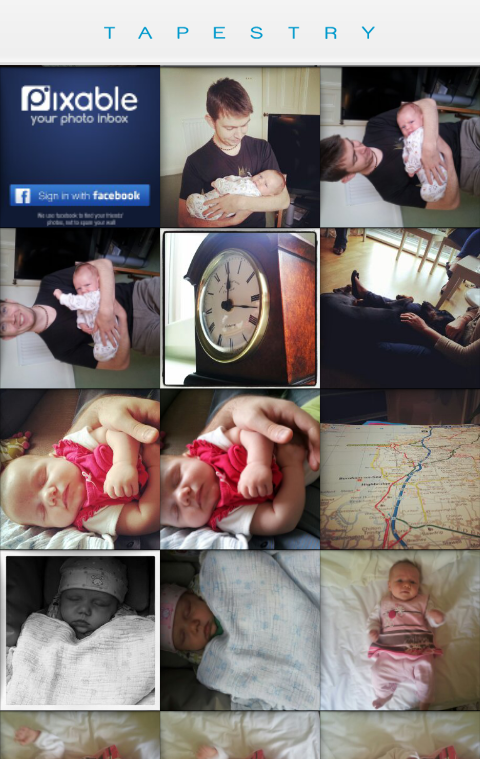 a3 Tapestry for Android lets you beam curated photo albums to friends and family in real time