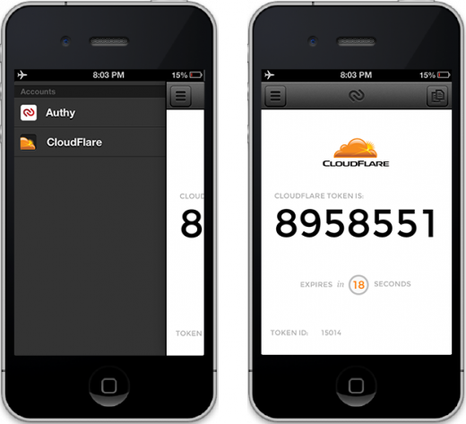 cloudflare 520x473 To avoid repeat hacks, CloudFlare partners with Authy to implement two factor authentication
