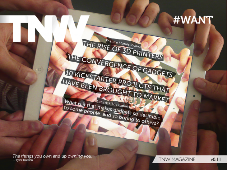 Download TNW Magazine issue v0.11: 'WANT'