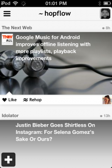 d4 220x330 Hopflow hops into public beta, launching its interest based social news app for iOS and the Web
